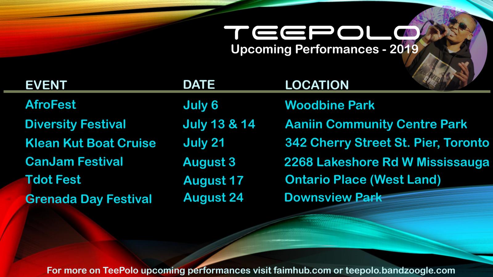 TEEPOLO: Upcoming Performances – FAIM HUB